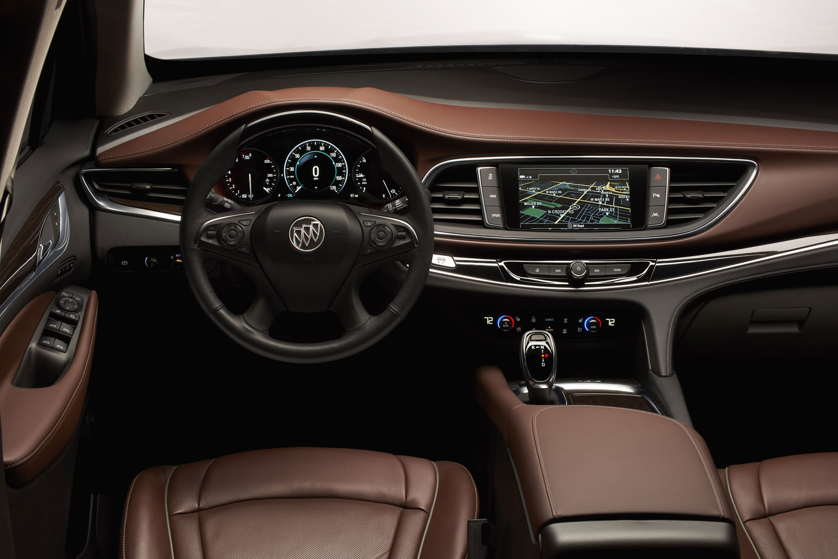 Scott Lanza Photography car interior for Buick
