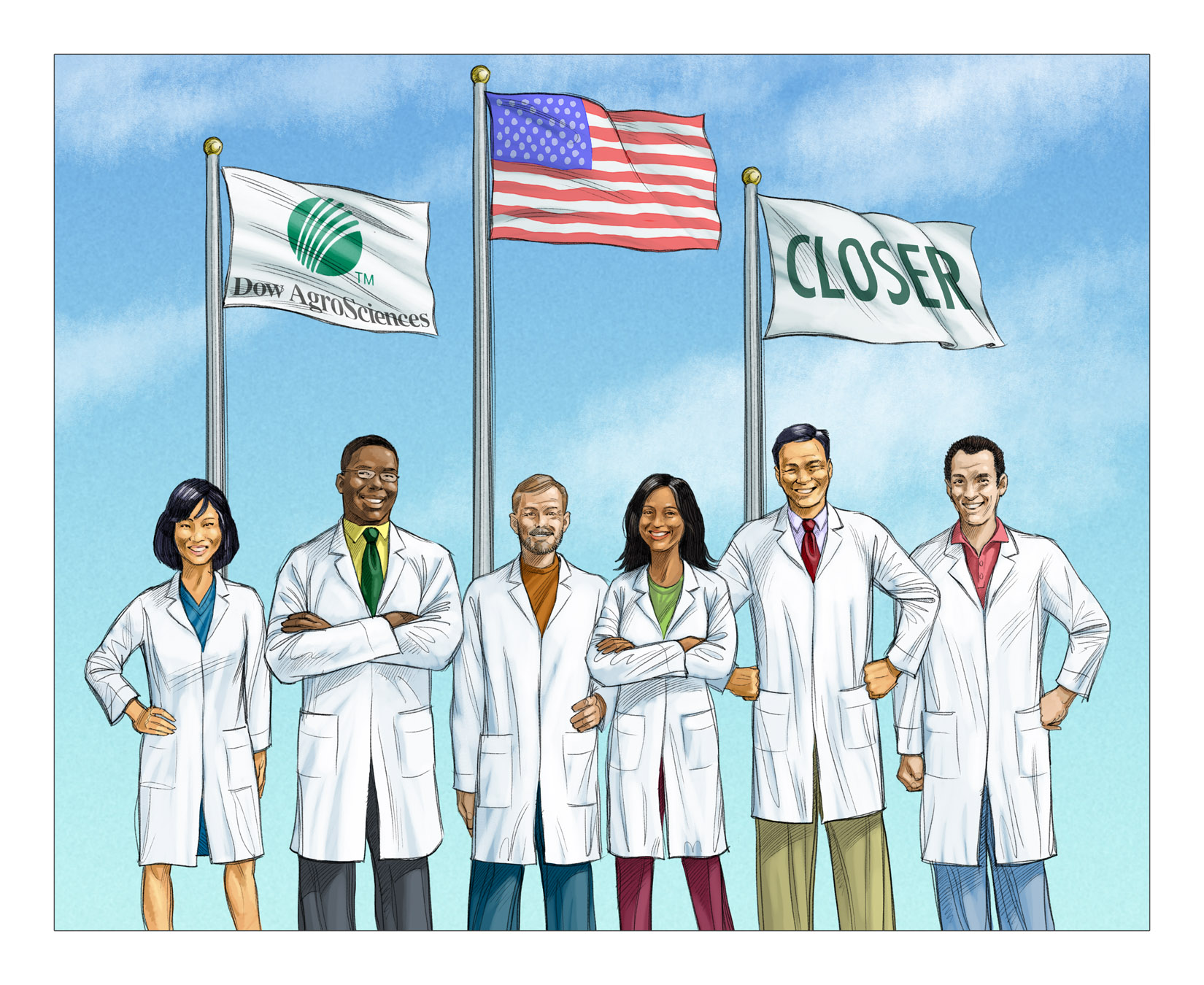 Keith Ward Client Comp Illustrations