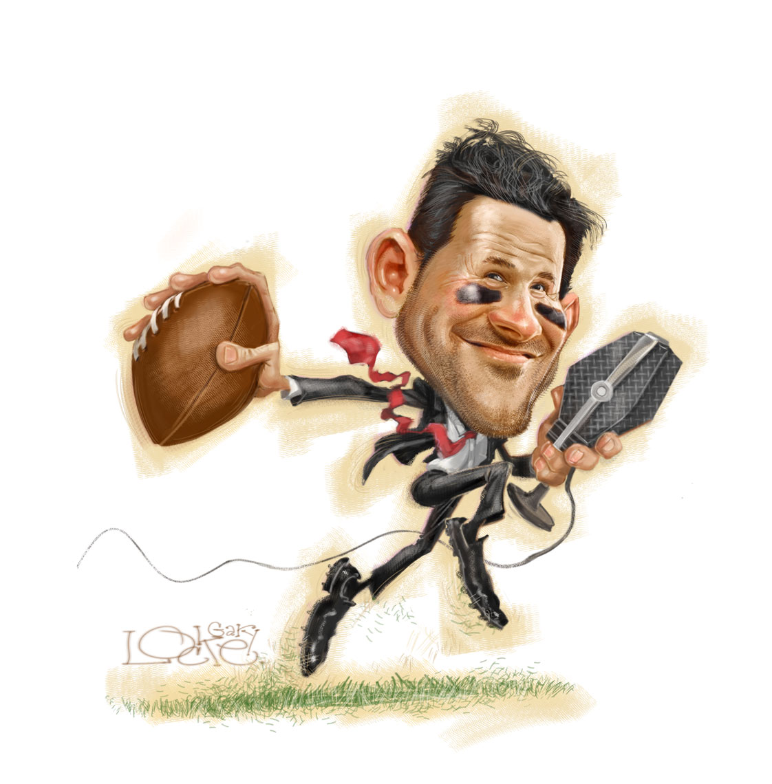 Gary-Locke-Illustration-of-CBS-Broadcaster-Tony-Romo