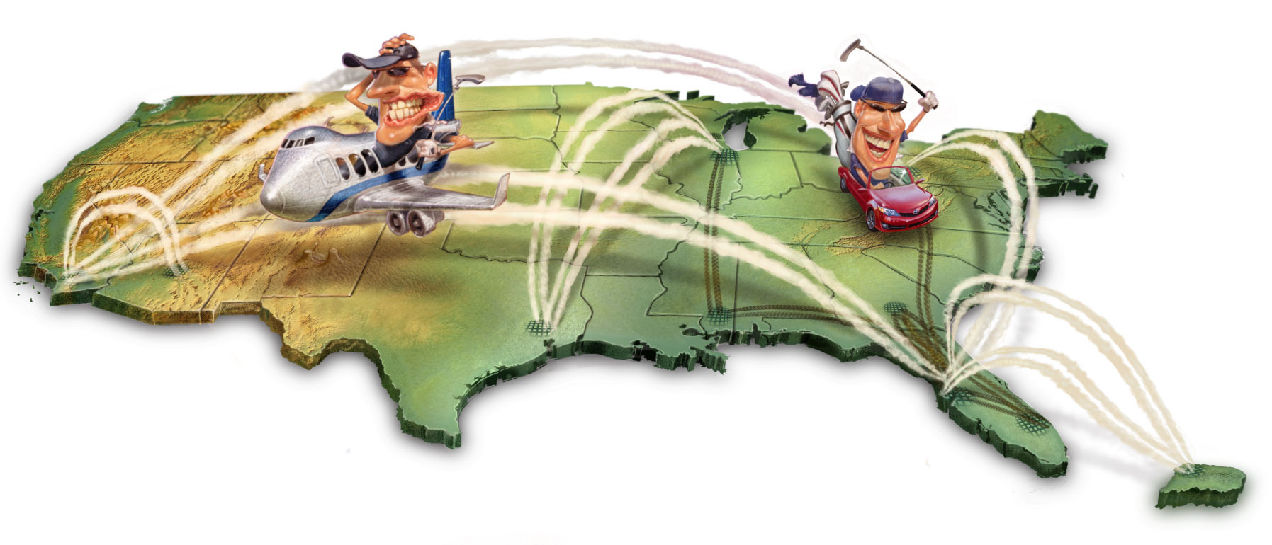 Golf in 50 States