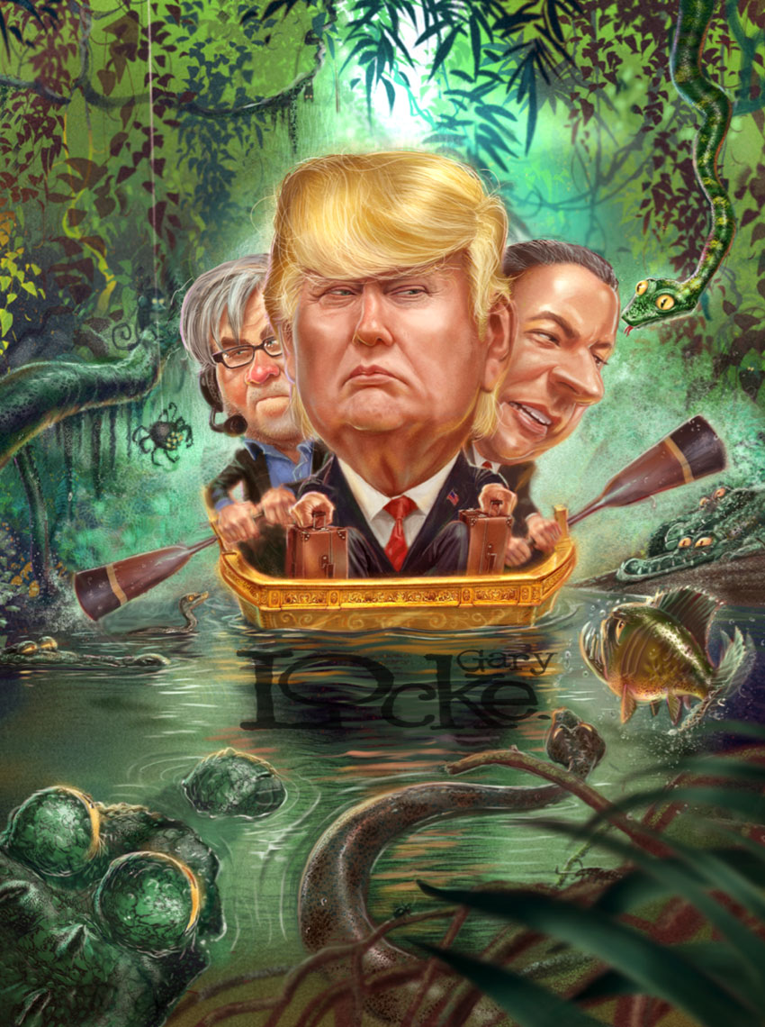 Trump-in-the-swamp